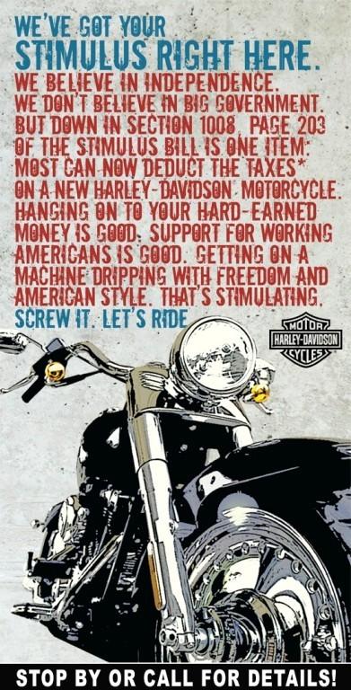 Harley Davidson: реклама легенды. Изображение № 5.