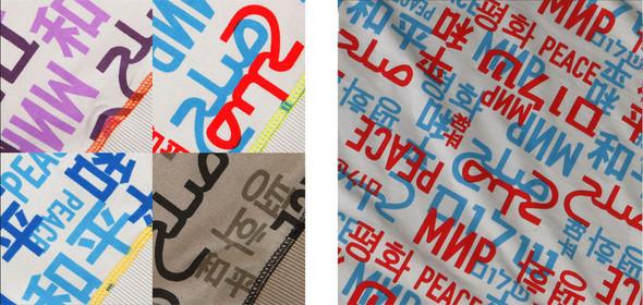 Свитер Мир - социальный, японский, модный. Изображение № 1.