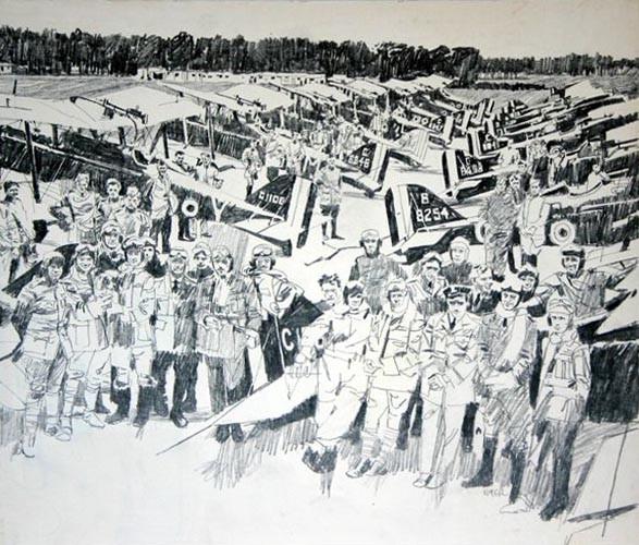 Американские иллюстраторы 40–60гг. ЧАСТЬ 1. Изображение № 5.