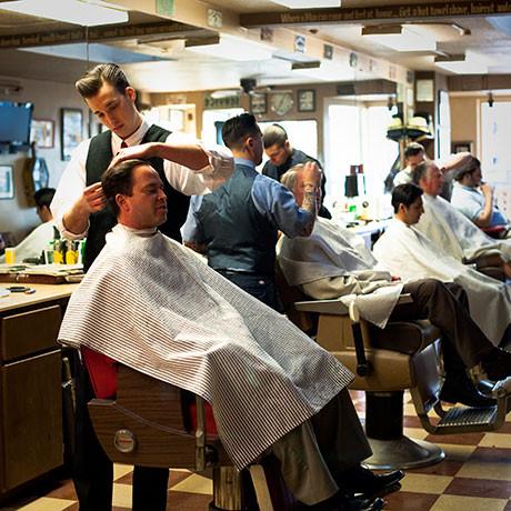 Hawleywood's Barbershop. Изображение № 2.