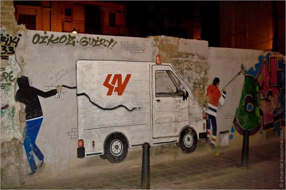 Стрит-арт и граффити Валенсии, Испания. Изображение № 13.