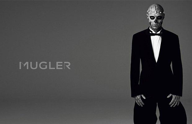 Рик Дженест в кампании Mugler . Изображение № 2.
