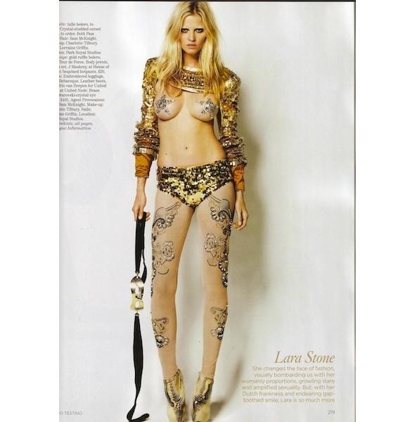 Новые съемки: Elle, Marie Claire, Vogue и другие. Изображение № 44.