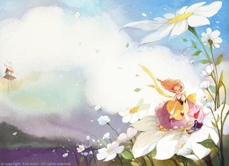 Kimmin ji– акварель видеальном исполнении. Изображение № 27.