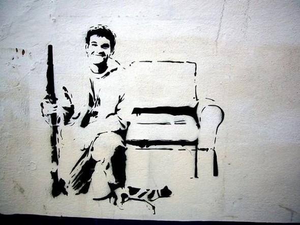 Изображение 26. Бристоль. Художественное граффити.. Изображение № 28.