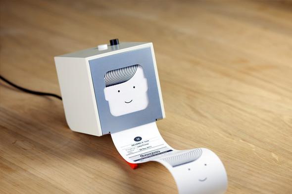 Little Printer - мини принтер от BERG. Изображение № 1.