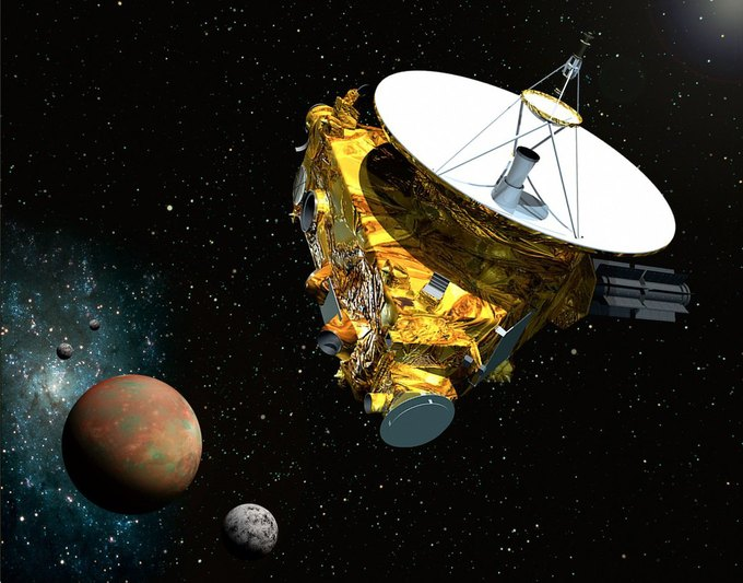 На New Horizons установили процессор первой PlayStation . Изображение № 1.
