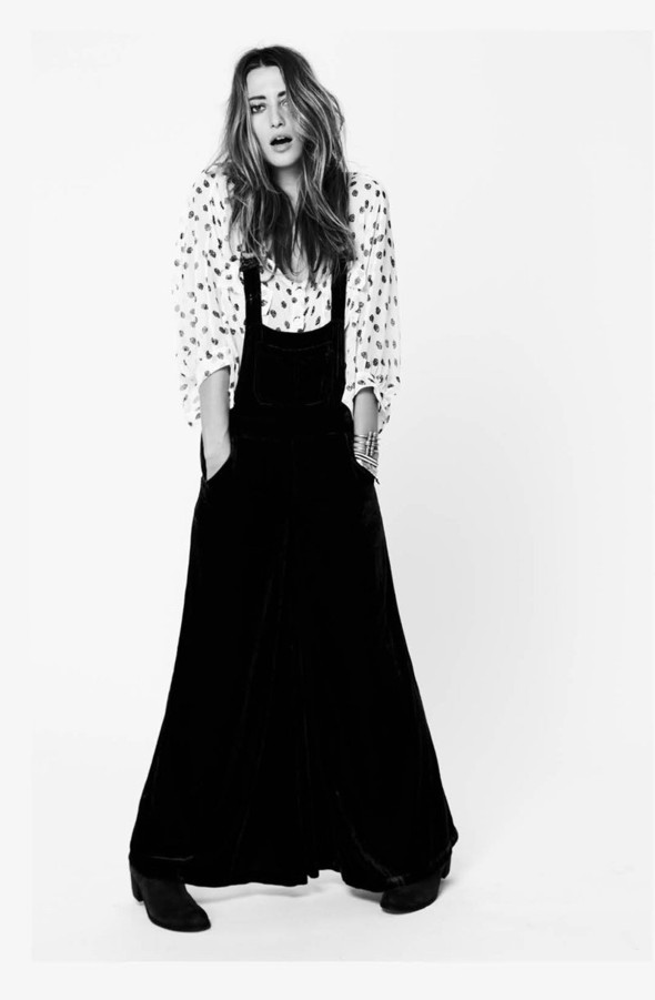 Коллекция: Free People 'Black & White'. Изображение № 4.