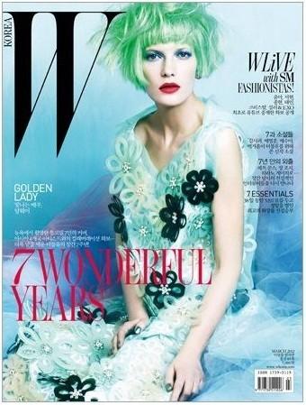 Обложки: Vogue, W и Pop. Изображение № 4.