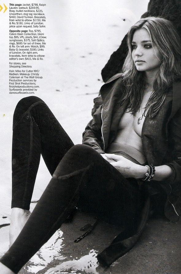Miranda Kerr - Marie Claire - January 2010. Изображение № 1.