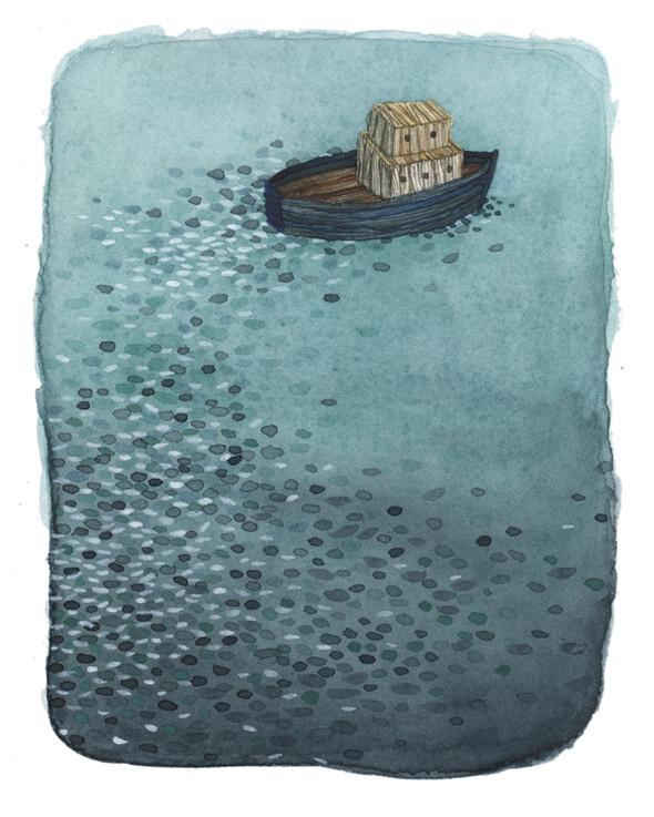 Былинки, вода и ветер Анны Эмилии Лайтинен. Изображение № 15.