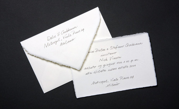 Изображение 9. Men's S/S 2011 fashion show invitations.. Изображение № 9.