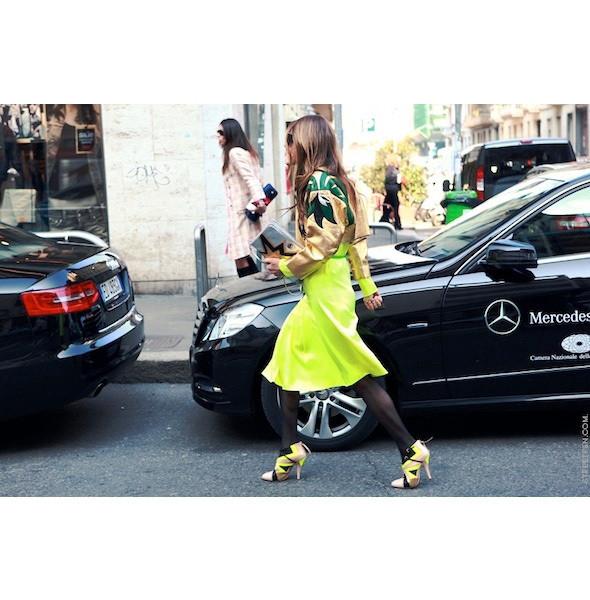 Изображение 85. На полях: 10 тенденций уличного стиля с прошедших недель моды.. Изображение № 85.