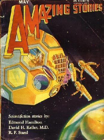 Космические обложки Pulp-журналов. Изображение № 5.