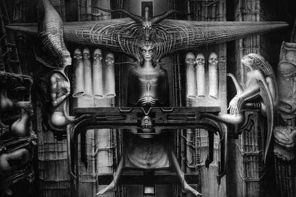 Работы Ганса Гигера. Изображение №11.