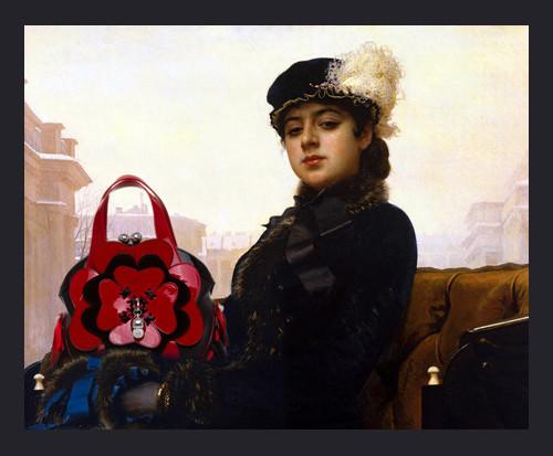 Изображение 4. Сумки для Боярыни Морозовой и Девочки с Персиками.. Изображение № 4.