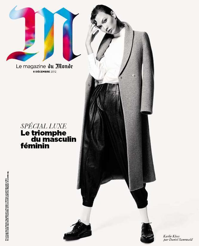 L'Officiel, Revs, W и другие журналы показали новые обложки. Изображение № 1.