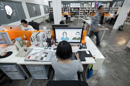 Изображение 37. 23 офиса, работать в которых - одно удовольствие.. Изображение № 11.