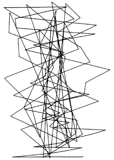 Цифровое искусство вэпоху зарождения компьютеров. Изображение № 8.