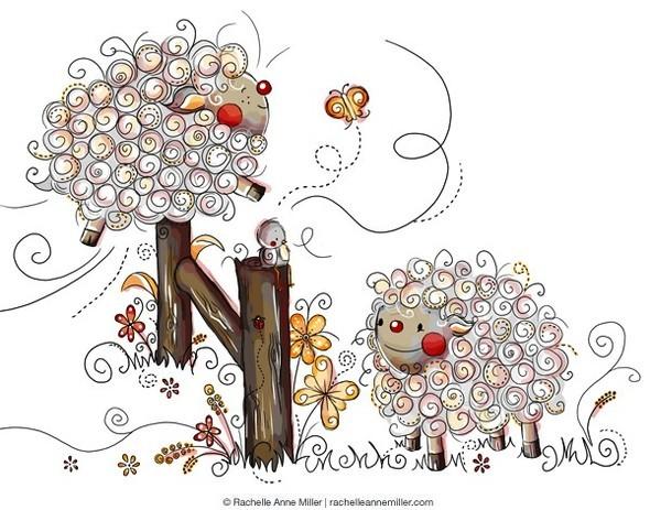 Иллюстратор Rachelle Anne Miller. Изображение № 32.