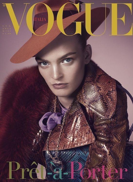 Изображение 3. Обложки Vogue: Великобритания, Италия и другие.. Изображение № 4.