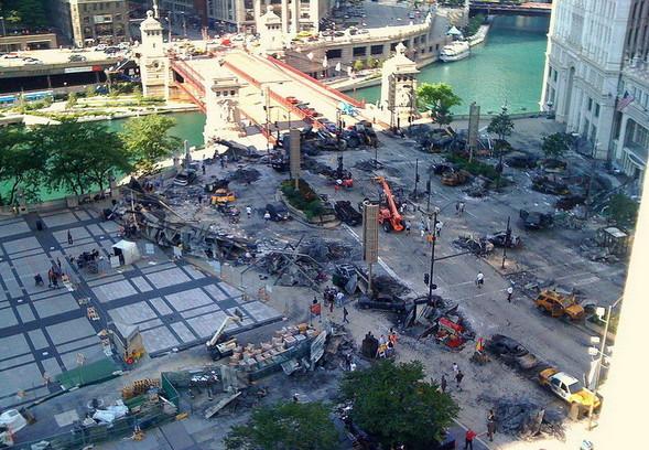 Съемки Трансформеров 3 в Чикаго. Изображение № 1.