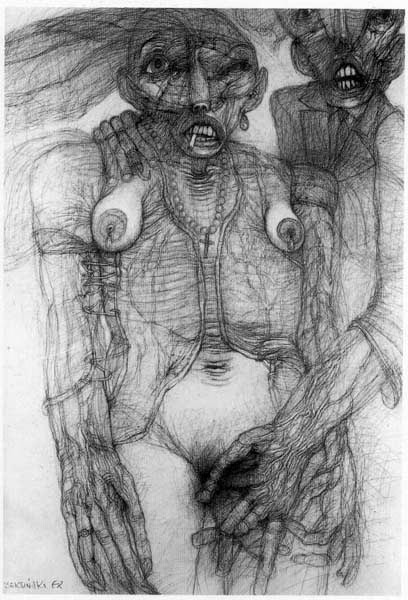 Архив работ Ждислава Бексински. Изображение № 30.