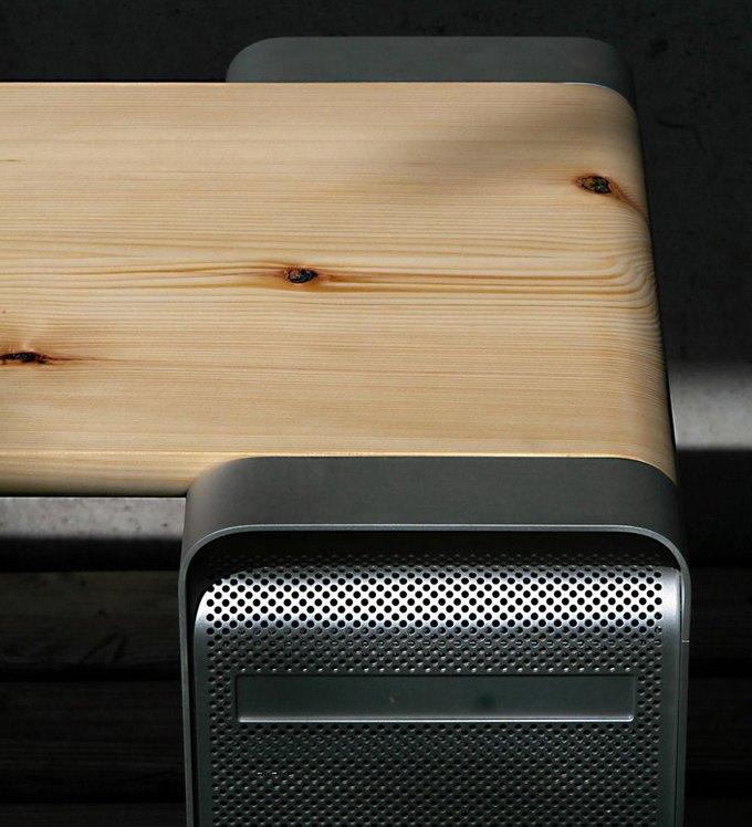 Дизайнер создал мебель изкомпьютера Apple. Изображение № 9.