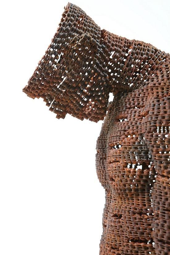 Скульптуры из цепей от Yeong-Deok Seo. Изображение № 17.