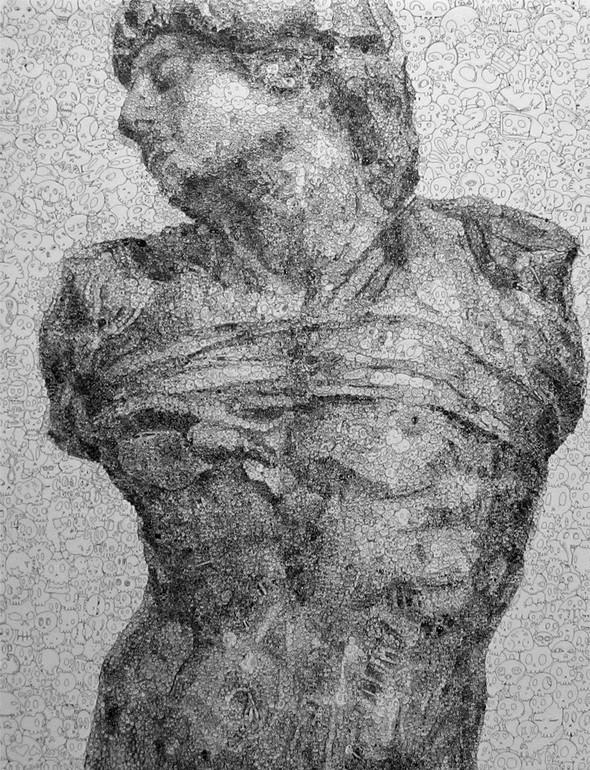 Мона Лиза из котиков или искусство по-японски. Изображение № 9.