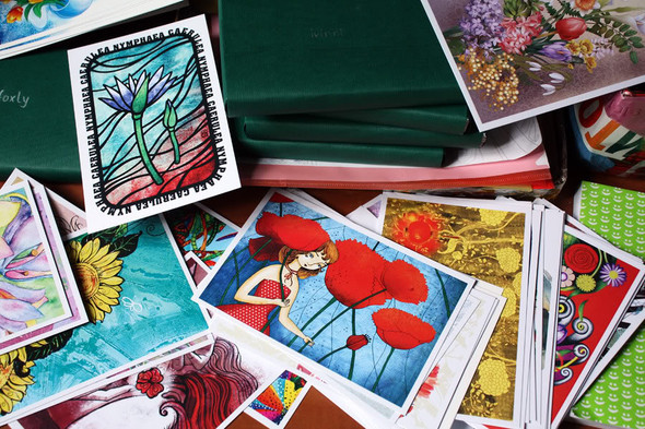 Kvaa Cards: авторские открытки иконкурсы. Изображение № 3.