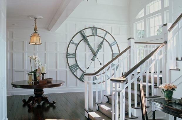 Необычные дизайнерские настенные часы. Изображение № 2.