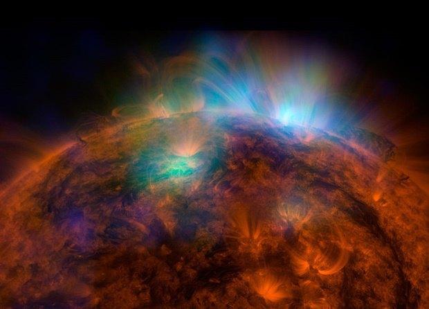 Первый снимок Солнца с телескопа Array в высокоэнергетических рентгеновских лучах. . Изображение № 20.