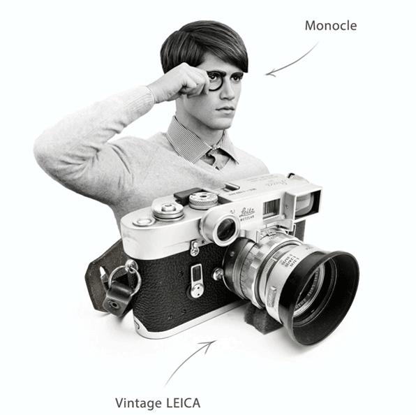 В сети появился концепт мини-камеры Leica с Bluetooth. Изображение № 4.