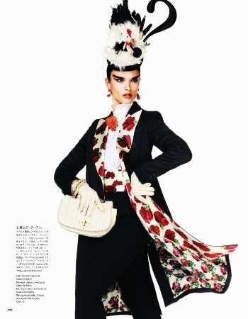 Съёмка: Кристал Ренн для Vogue. Изображение № 10.