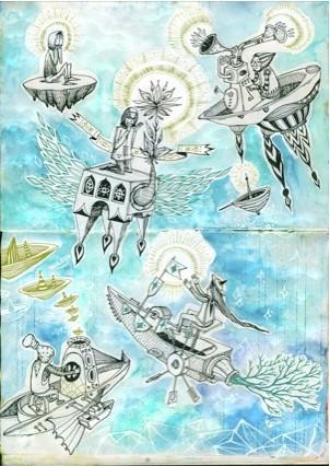 Стас Каневский: граффити во плоти. Изображение № 16.