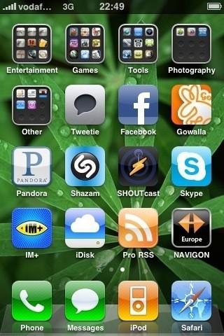 Темы на айфоне 3