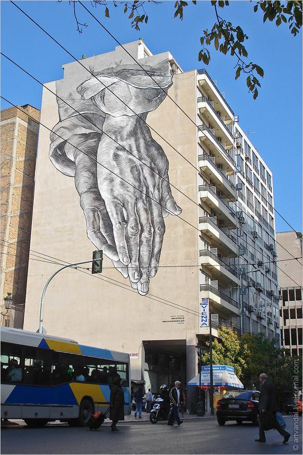Стрит-арт и граффити Афин, Греция. Изображение № 1.
