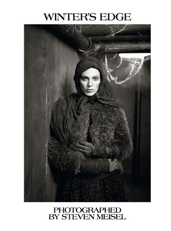 "Съёмка: ""Winter's Edge"" by Steven Meisel. Видите Россию?. Изображение № 1."