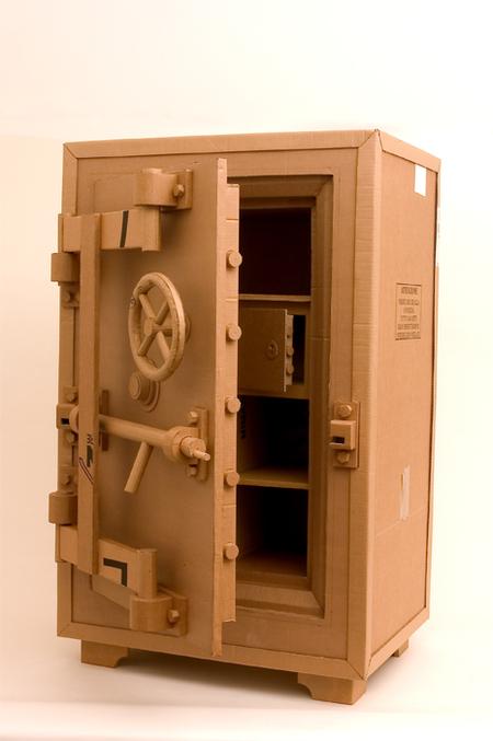 Chris Gilmour картонный скульптор. Изображение № 3.