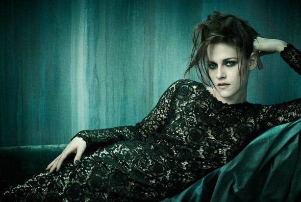 Съёмка: Кристен Стюарт для итальянского Vogue. Изображение № 3.