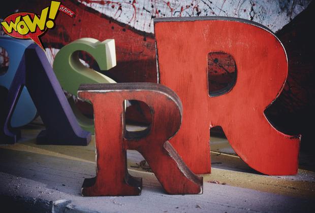 Буквы в интерьере. Изображение № 5.