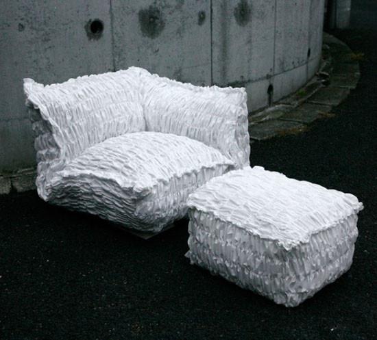 Присядьте на бумажное кресло. Изображение № 3.