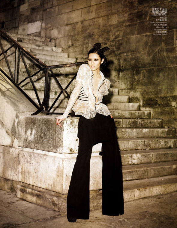 Vogue China – November 2009 – Belle de Nuit. Изображение № 10.