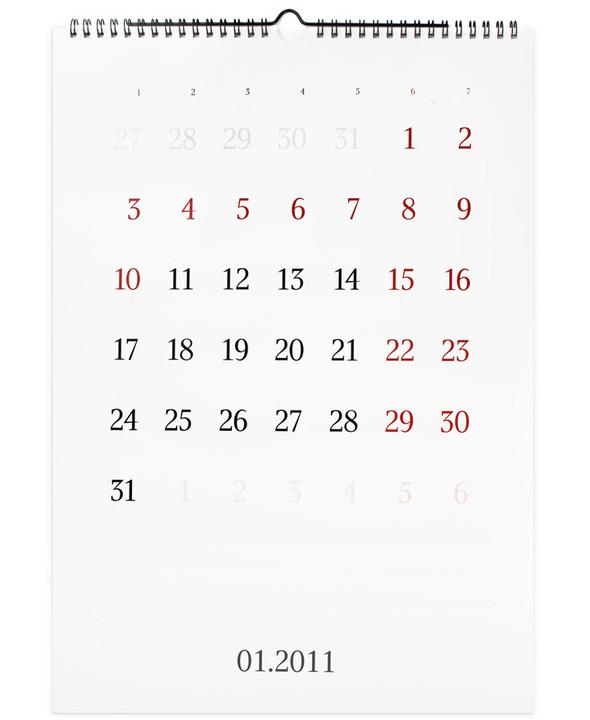 Веселые календари на 2011. Изображение № 20.