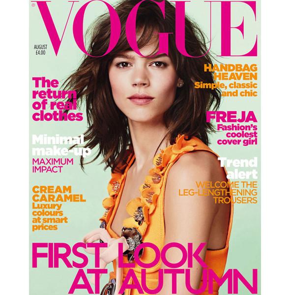 8 новых обложек Vogue. Изображение № 2.