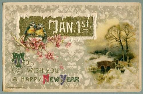 Новогодние открытки 1912 года. Изображение № 8.