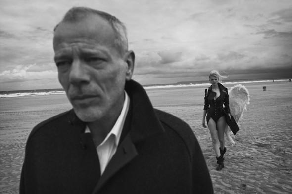 Съёмка: Дафне Гренвельд и Паскаль Греггори в объективе Питера Линдберга. Изображение № 5.
