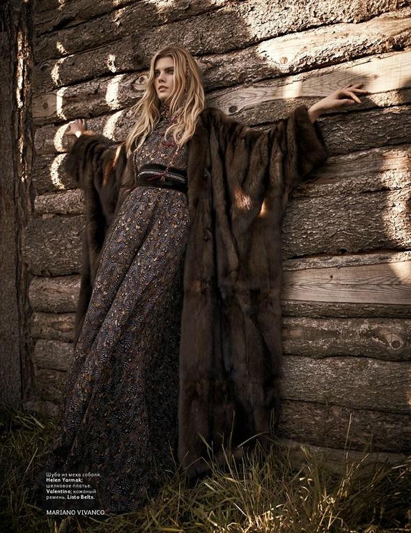 Съёмка: Марина Линчук для российского Vogue. Изображение № 5.