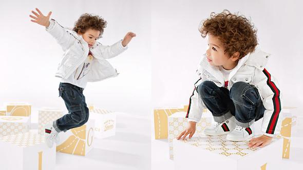 Все лучшее детям: лукбуки D&G, Gucci, John Galliano, Burberry. Изображение № 34.
